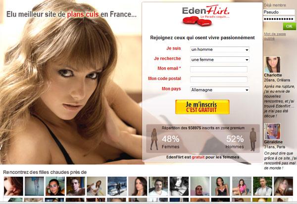 Eden Flirt Comparatif, Avis & Arnaque